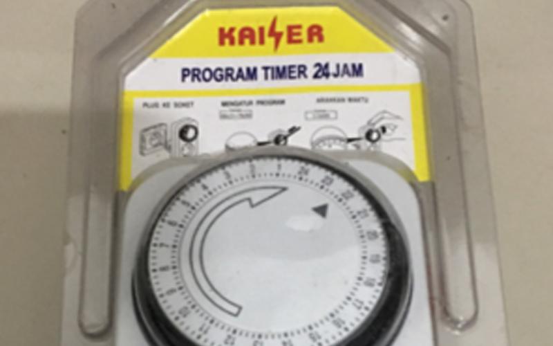 Timer Walet Manual Kaiser